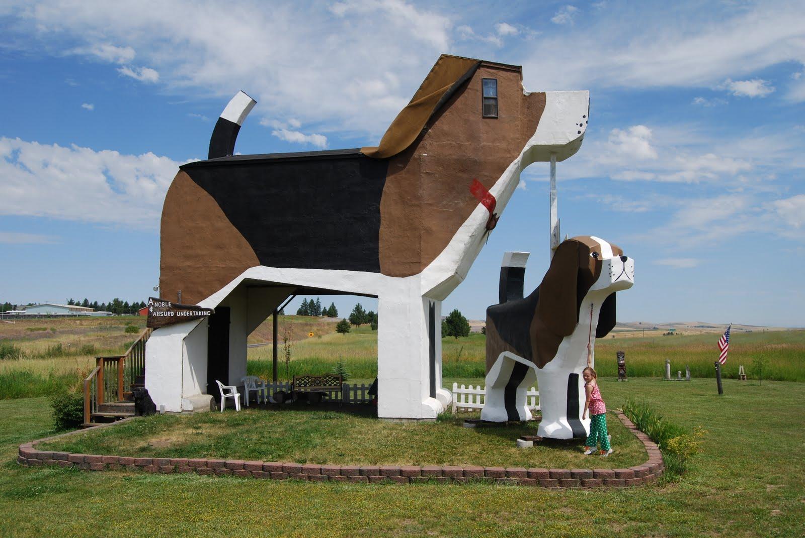 El hotel con forma de perro